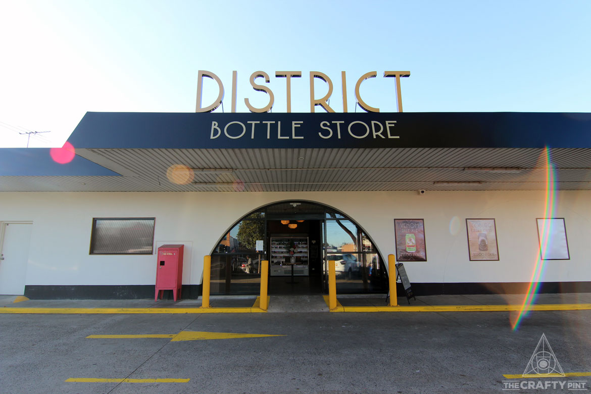 2-4-1 Beers At District Bottle Store