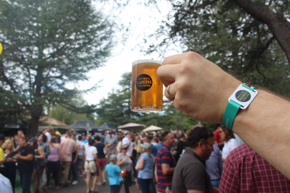 Win a Double Pass to Canberra Craft Beer & Cider Festival