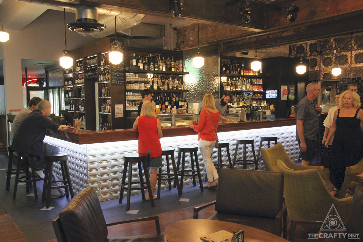 Free Pot Of Brisbane Brewing Co With Main Meal