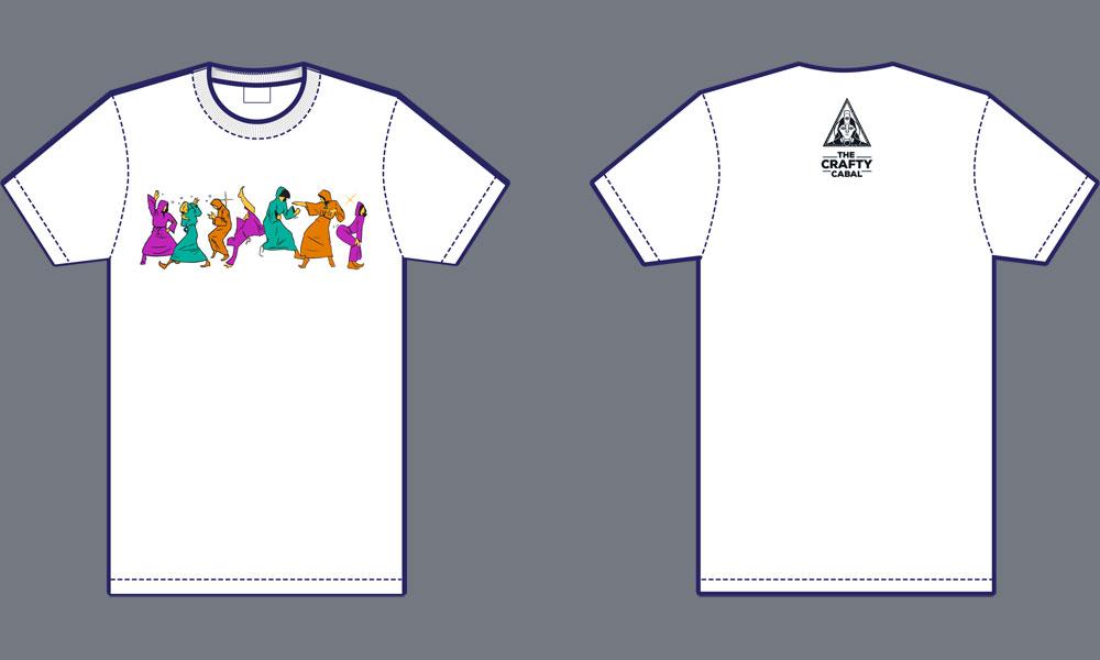 Crafty Cabal Disco T-Shirt (Women)