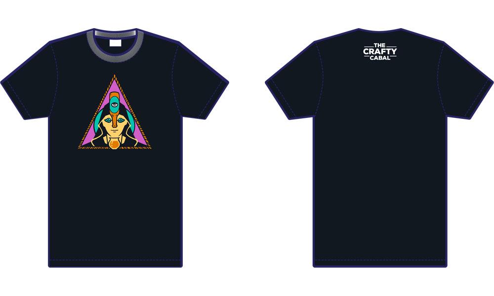 Crafty Cabal Logo T-Shirt (Women)