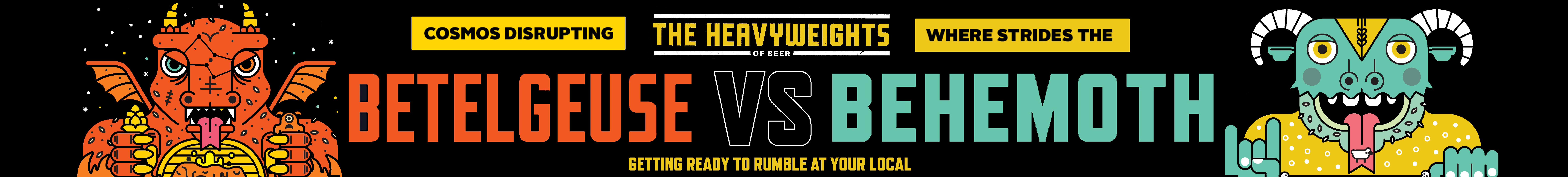 Kaiju Heavy Weights Of Beer-D