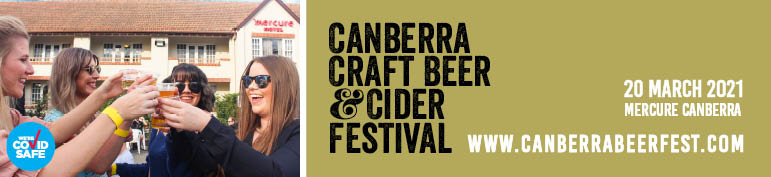 Canberra Craft Beer and Cider Festival 2021