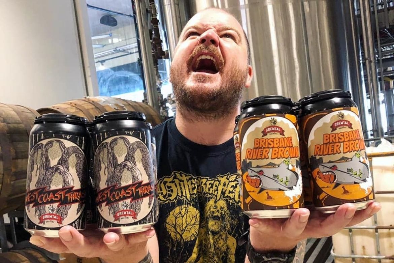 Drinking Brewtal tinnies? You'd better believe that's a thrashin'.