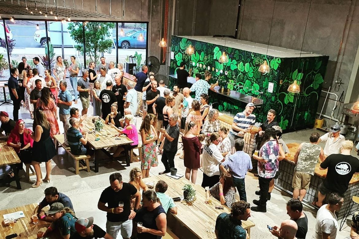 Inside Moffat's new brewery and venue
