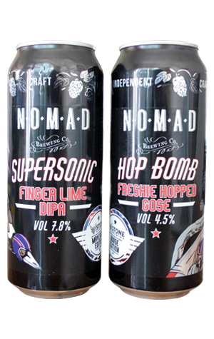 Nomad & Stone Brewing Supersonic & Hop Bomb - The Crafty Pint