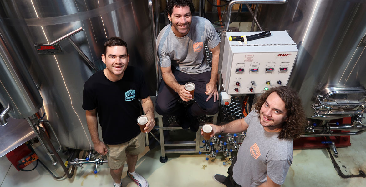 Who Brews Bravo Beers?