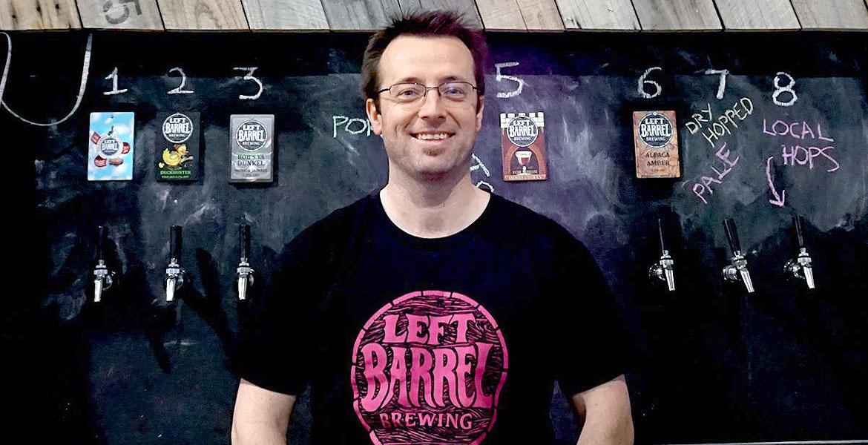 Who Brews Left Barrel Beers?