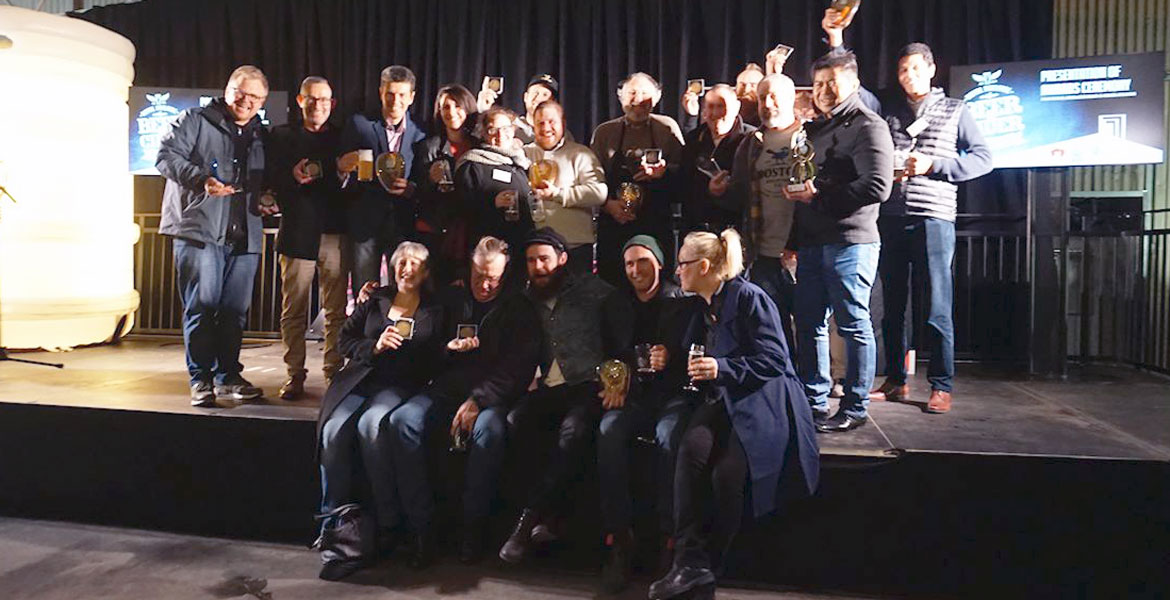 Royal Adelaide Beer & Cider Winners 2018
