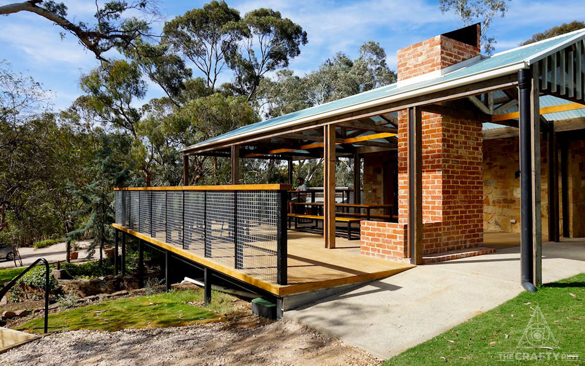 The new Clare Valley Brewing Co cellar door.