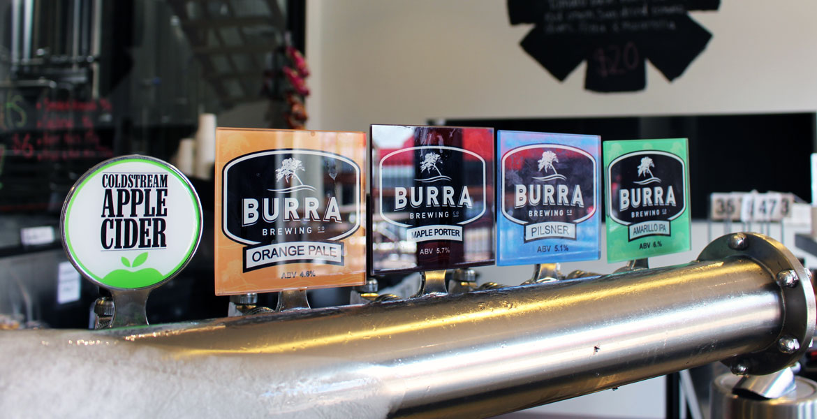 Who Brews Burra Beers?