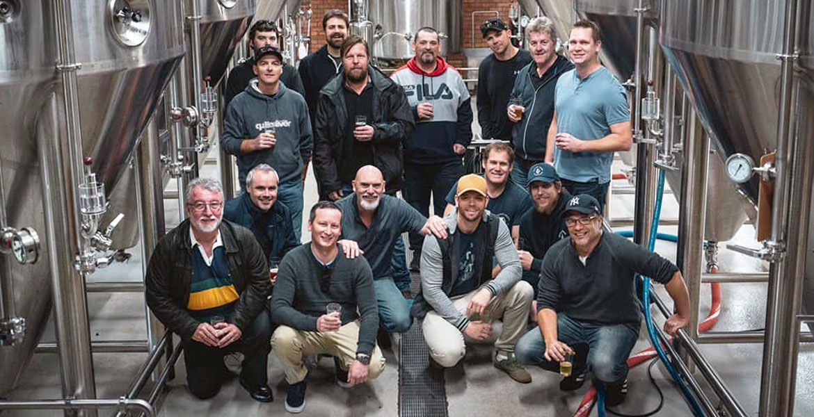 Cancer Dads Come Together For Bear Beer