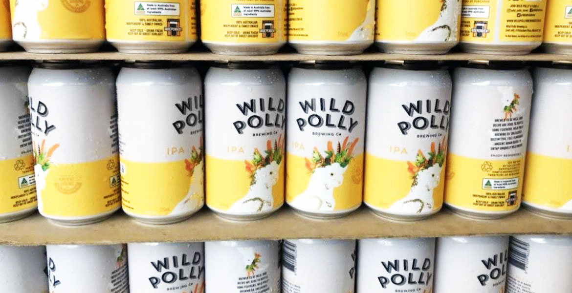 Who Brews Wild Polly's GF Beers?