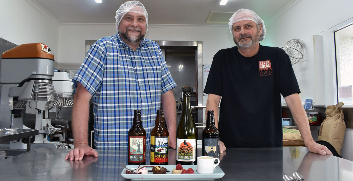 Beer Food: The Brewer & The Chocolatier